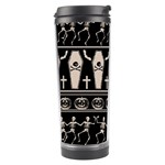 Halloween pattern Travel Tumbler Left