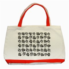 Vintage Roses Classic Tote Bag (red)