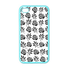 Vintage Roses Apple Iphone 4 Case (color)