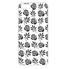 Vintage Roses Apple Iphone 5 Seamless Case (white)