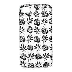 Vintage Roses Apple Iphone 4/4s Hardshell Case With Stand