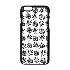 Vintage Roses Apple Iphone 6/6s Black Enamel Case