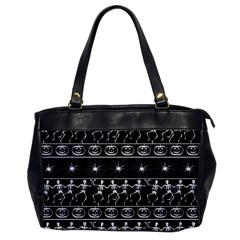 Halloween Pattern Office Handbags