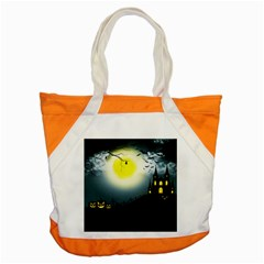 Halloween Landscape Accent Tote Bag