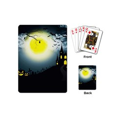 Halloween Landscape Playing Cards (mini)