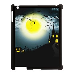 Halloween Landscape Apple Ipad 3/4 Case (black)