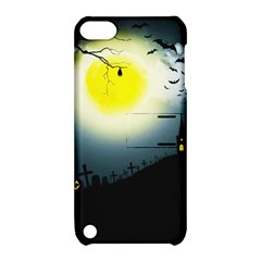 Halloween Landscape Apple Ipod Touch 5 Hardshell Case With Stand