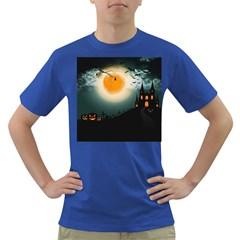 Halloween Landscape Dark T Shirt