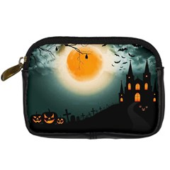 Halloween Landscape Digital Camera Cases