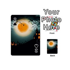 Halloween Landscape Playing Cards 54 (mini)