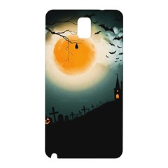 Halloween Landscape Samsung Galaxy Note 3 N9005 Hardshell Back Case