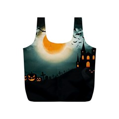 Halloween Landscape Full Print Recycle Bags (s)