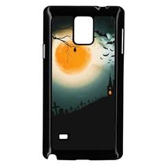 Halloween Landscape Samsung Galaxy Note 4 Case (black)