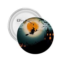 Halloween Landscape 2 25  Buttons