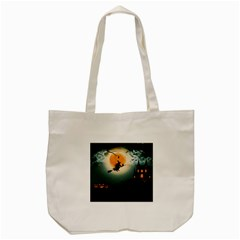 Halloween Landscape Tote Bag (cream)