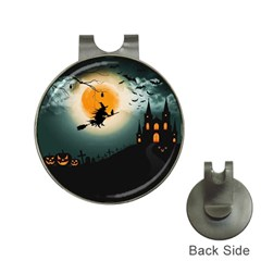 Halloween Landscape Hat Clips With Golf Markers