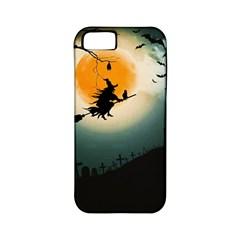 Halloween Landscape Apple Iphone 5 Classic Hardshell Case (pc+silicone)