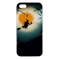 Halloween Landscape Apple Iphone 5 Premium Hardshell Case