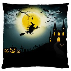 Halloween Landscape Large Cushion Case (one Side)