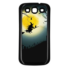Halloween Landscape Samsung Galaxy S3 Back Case (black)
