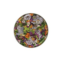 Halloween Pattern Hat Clip Ball Marker
