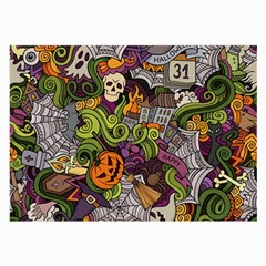 Halloween Pattern Large Glasses Cloth (2 Side)