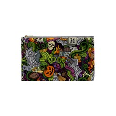Halloween Pattern Cosmetic Bag (small)
