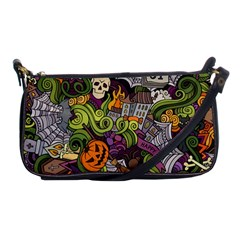 Halloween Pattern Shoulder Clutch Bags