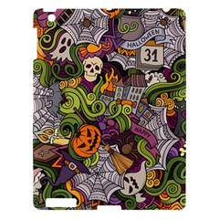 Halloween Pattern Apple Ipad 3/4 Hardshell Case