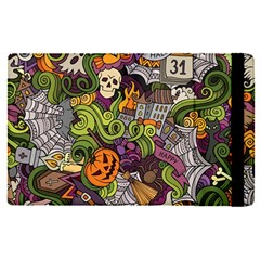 Halloween Pattern Apple Ipad Pro 9 7   Flip Case