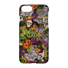 Halloween Pattern Apple Iphone 7 Hardshell Case