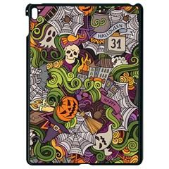Halloween Pattern Apple Ipad Pro 9 7   Black Seamless Case