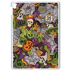 Halloween Pattern Apple Ipad Pro 9 7   White Seamless Case