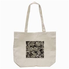 Halloween Pattern Tote Bag (cream)