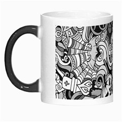 Halloween Pattern Morph Mugs