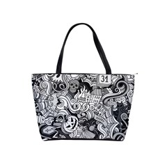 Halloween Pattern Shoulder Handbags
