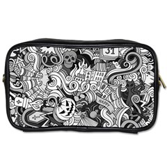 Halloween Pattern Toiletries Bags 2 Side