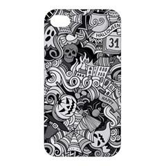 Halloween Pattern Apple Iphone 4/4s Hardshell Case