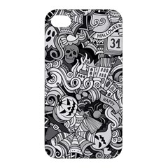 Halloween Pattern Apple Iphone 4/4s Premium Hardshell Case