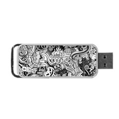 Halloween Pattern Portable Usb Flash (one Side)