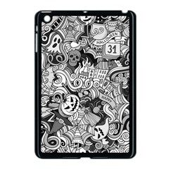 Halloween Pattern Apple Ipad Mini Case (black)