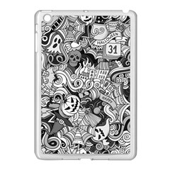 Halloween Pattern Apple Ipad Mini Case (white)