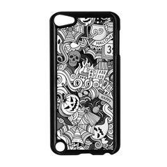 Halloween Pattern Apple Ipod Touch 5 Case (black)