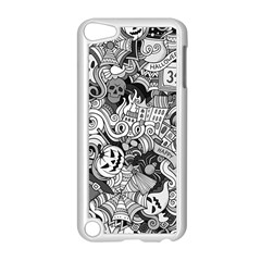 Halloween Pattern Apple Ipod Touch 5 Case (white)