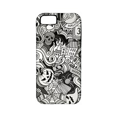 Halloween Pattern Apple Iphone 5 Classic Hardshell Case (pc+silicone)