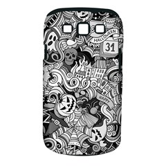 Halloween Pattern Samsung Galaxy S Iii Classic Hardshell Case (pc+silicone)