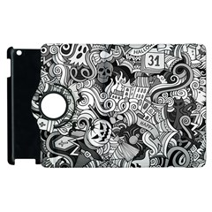 Halloween Pattern Apple Ipad 3/4 Flip 360 Case