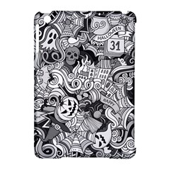 Halloween Pattern Apple Ipad Mini Hardshell Case (compatible With Smart Cover)
