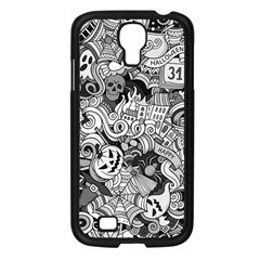 Halloween Pattern Samsung Galaxy S4 I9500/ I9505 Case (black)