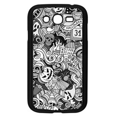 Halloween Pattern Samsung Galaxy Grand Duos I9082 Case (black)